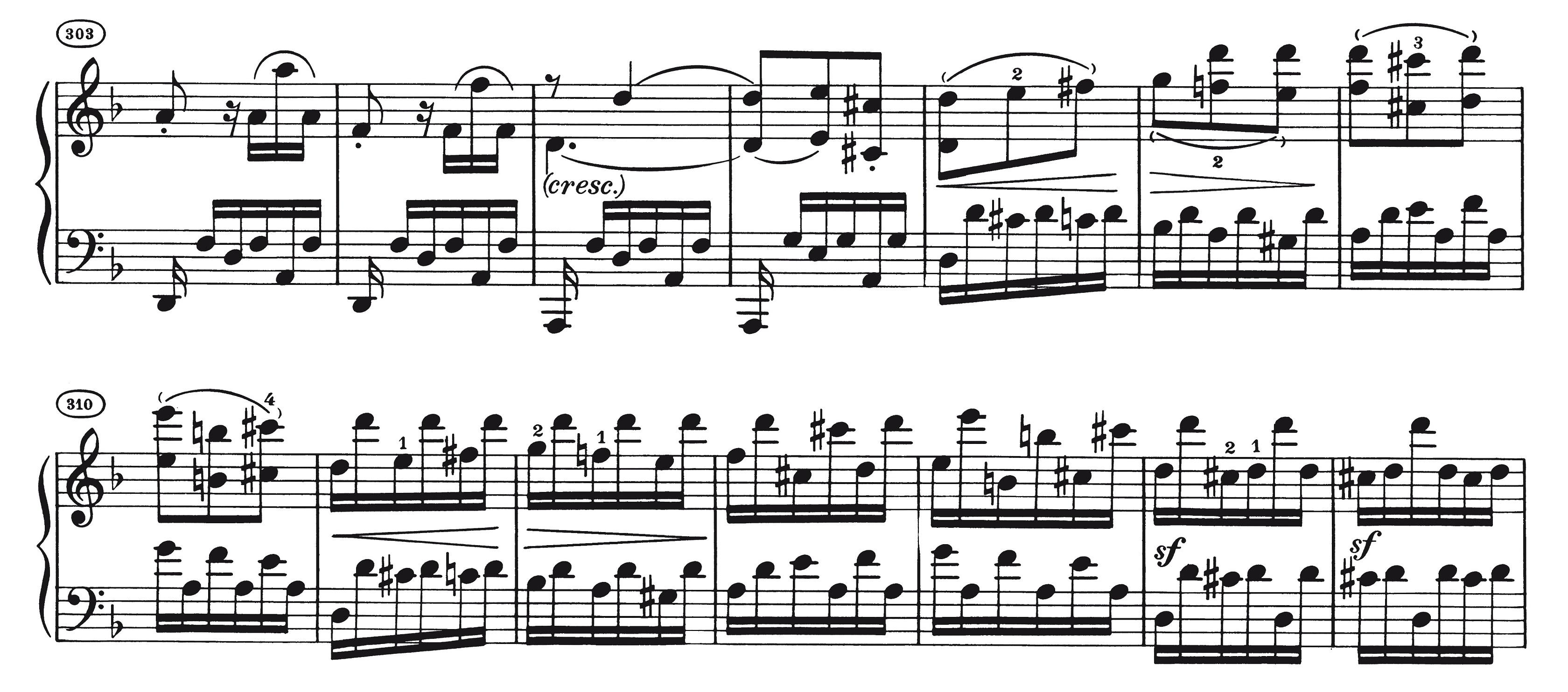 """Is it OK to add them? – The """"missing"""" low notes in Beethoven's piano"""