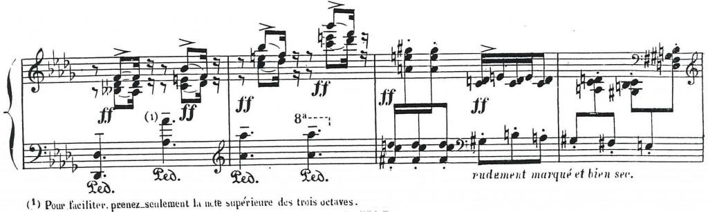 Ausschnitt aus der Pariser Erstausgabe von El Puerto