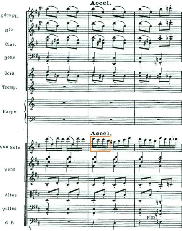 Abb. 3: Orchesterfassung, Takte 330–332