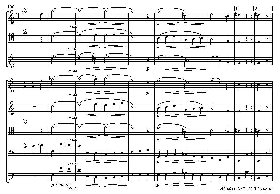 """Abb. 6: Schubert, """"Oktett"""" D 803, 3. Satz, T. 190–198."""