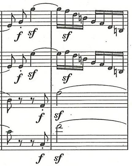 Abb. 5: Satz IV: Allegro molto vivace, Takte 40–41