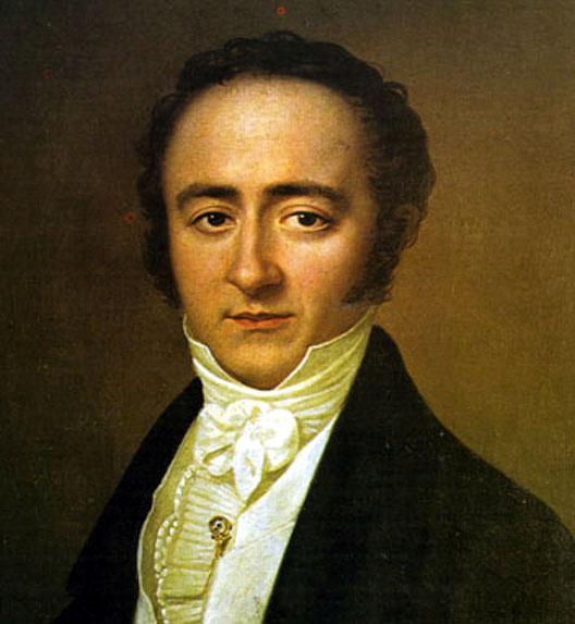 Franz Xaver Wolfgang Mozart, 1825 (Quelle: Wikimedia.org, Lizenz: PD)