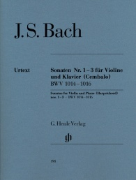 Urtext Edition J.S Bach: English Suites BWV 806-811 Harpsichord Sheet Piano