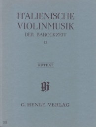 Italian violin music of the Baroque era image