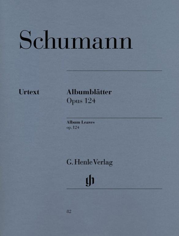 Kinderszenen Op.15//Album Fur Die Jugend Op.68 Robert Schumann Henle Urtext Edi