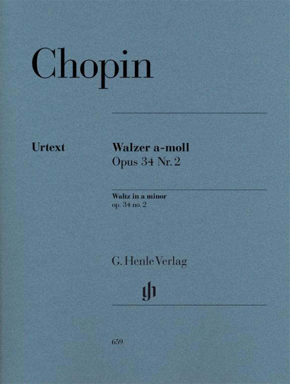 CHOPIN WALTZES Zimmermann//Theopold urtext Piano