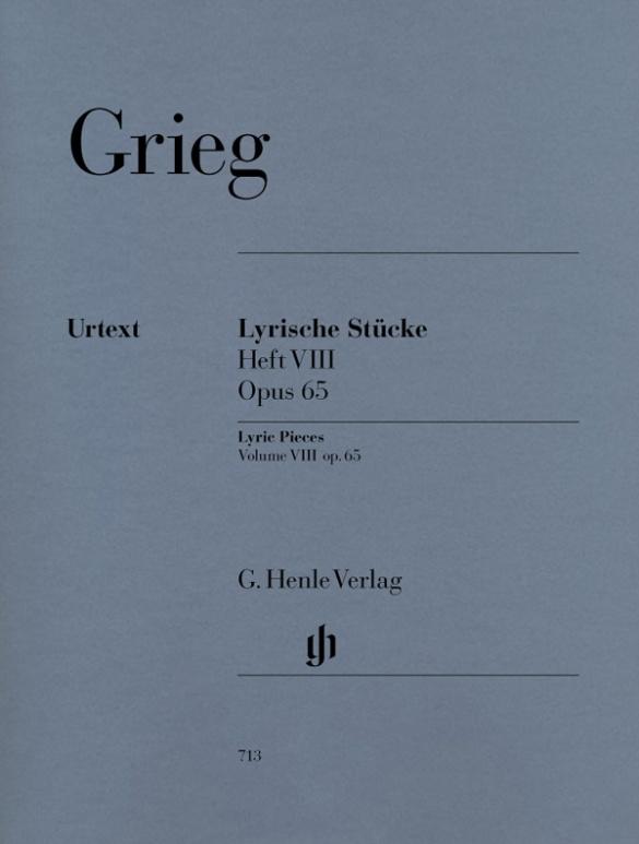 Lyric pieces - Complete Book VIII, Op. 65 (Edvard Grieg Lyric pieces 8)