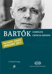 Bartók Complete Edition, Flyer