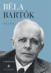 Dépliant «Bartók Music for Piano», anglais