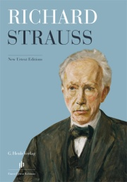 Dépliant «Richard Strauss», anglais