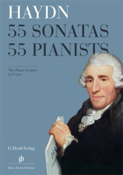 "Flyer ""Haydn Piano Sonatas"""