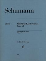 Schumann Sämtliche Klavierwerke Band VI